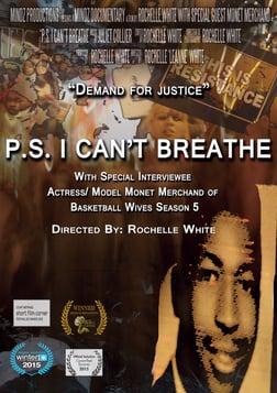 P.S. I Can't Breathe - Black Lives Matter