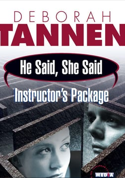 He Said She Said - Gender, Language and Communication with Deborah Tannen