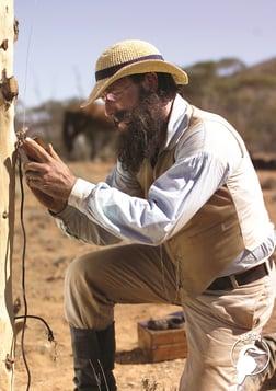 A Wire Through the Heart (Constructing Australia Series)