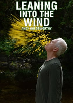 Leaning into the Wind - The Work of Artist Andy Goldsworthy