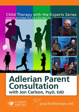 Adlerian Parent Consultation - With Jon Carlson