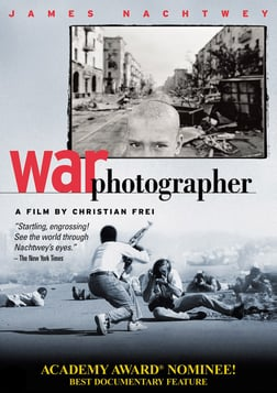 War Photographer - Photojournalist James Nachtwey