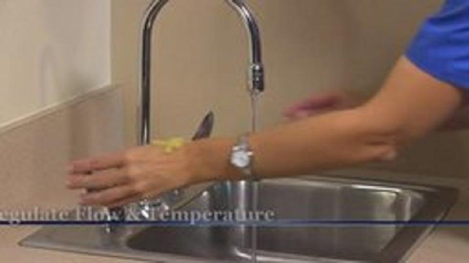 Performing hand hygiene