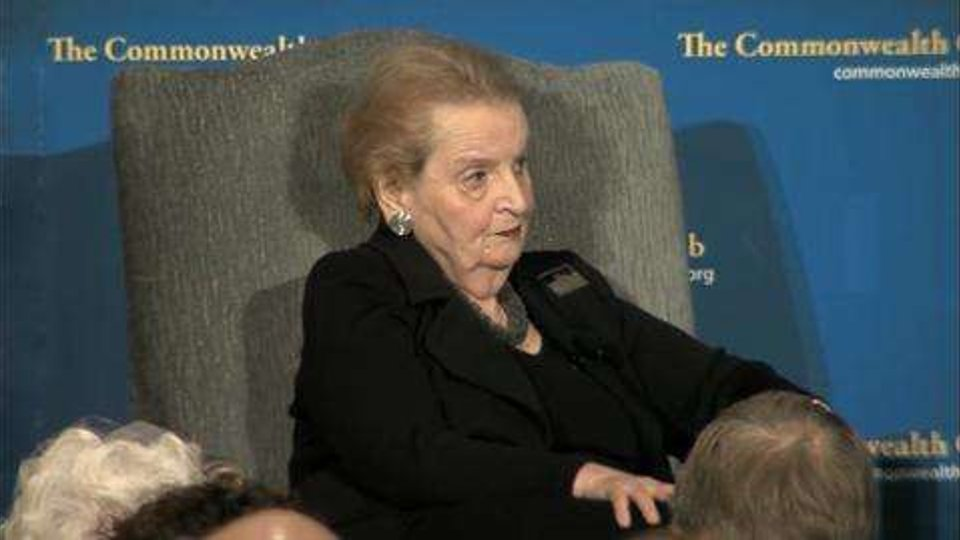 Madeleine Albright's Remarkable Story of War and Diplomacy (Commonwealth Club)