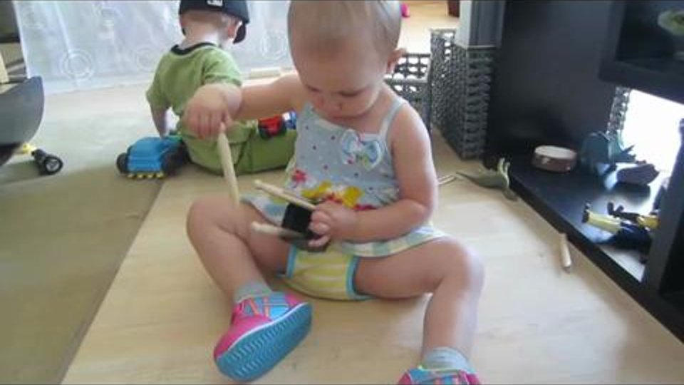A Clothespin for Every Side – Math at 21 Months
