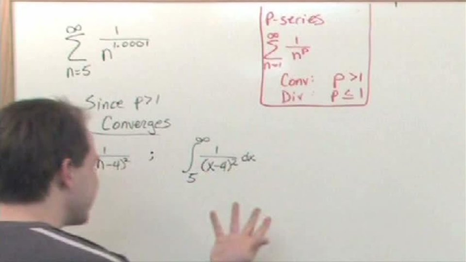 Integral Test of Series Convergence
