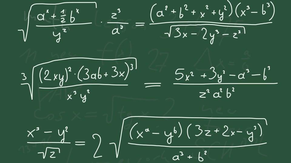 The Joy of Algebra Made Visual