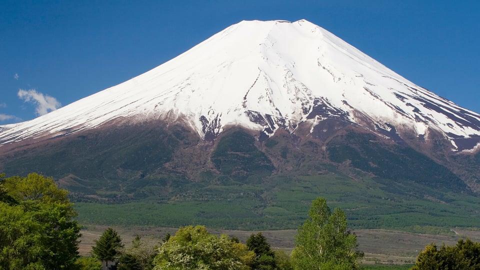 Mount Fuji—Sleeping Power