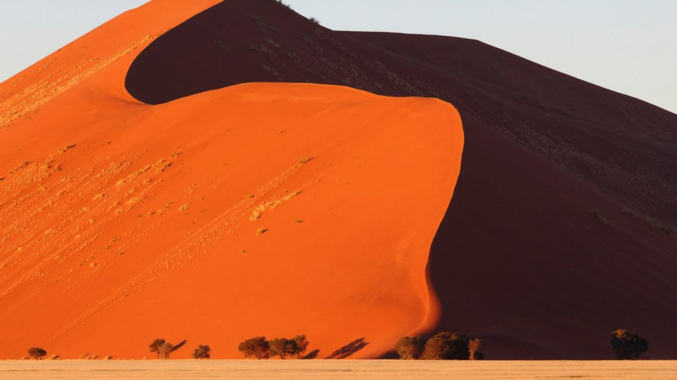 Namib/Kalahari Deserts—Sand Mountains