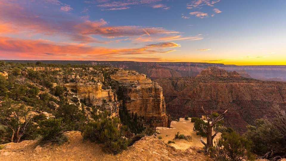 The Grand Canyon's 2-Billion-Year Staircase