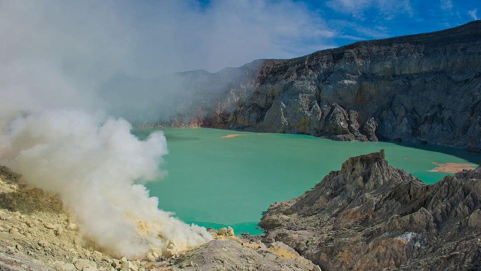 Kawah Ijen—World's Most Acid Lake