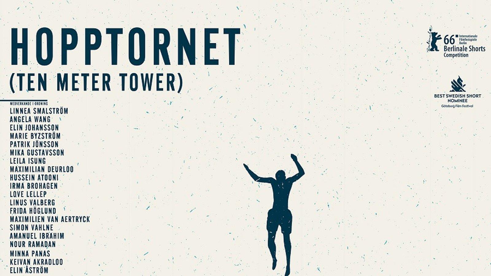 Ten Meter Tower (Hopptornet) - An Entertaining Human Experiment on Fear & Humiliation