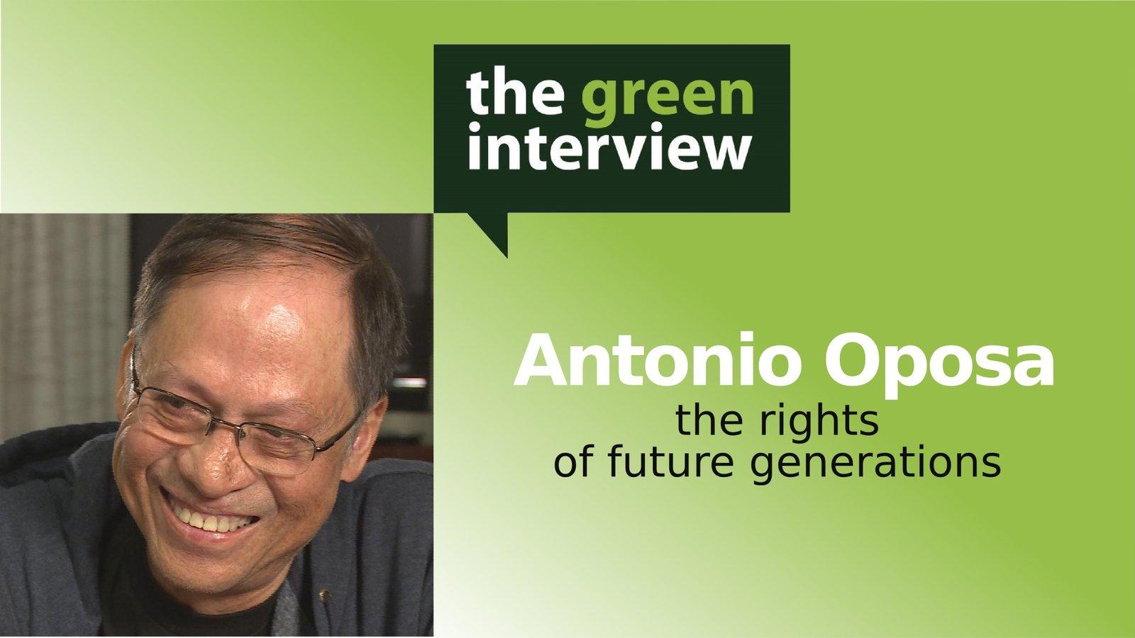Antonio Oposa: The Rights of Future Generations
