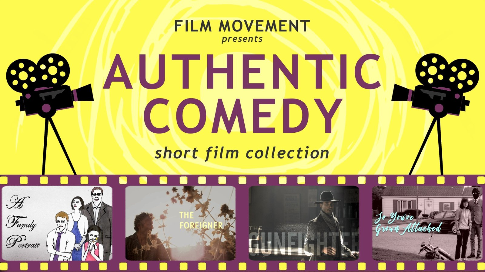Authentic Comedy Short Film Collection