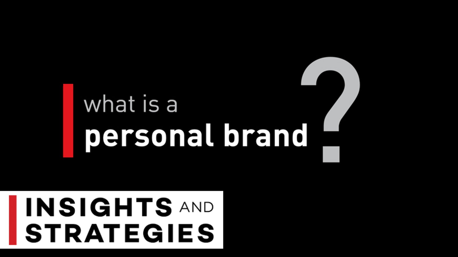 Personal Presentation Strategy Series