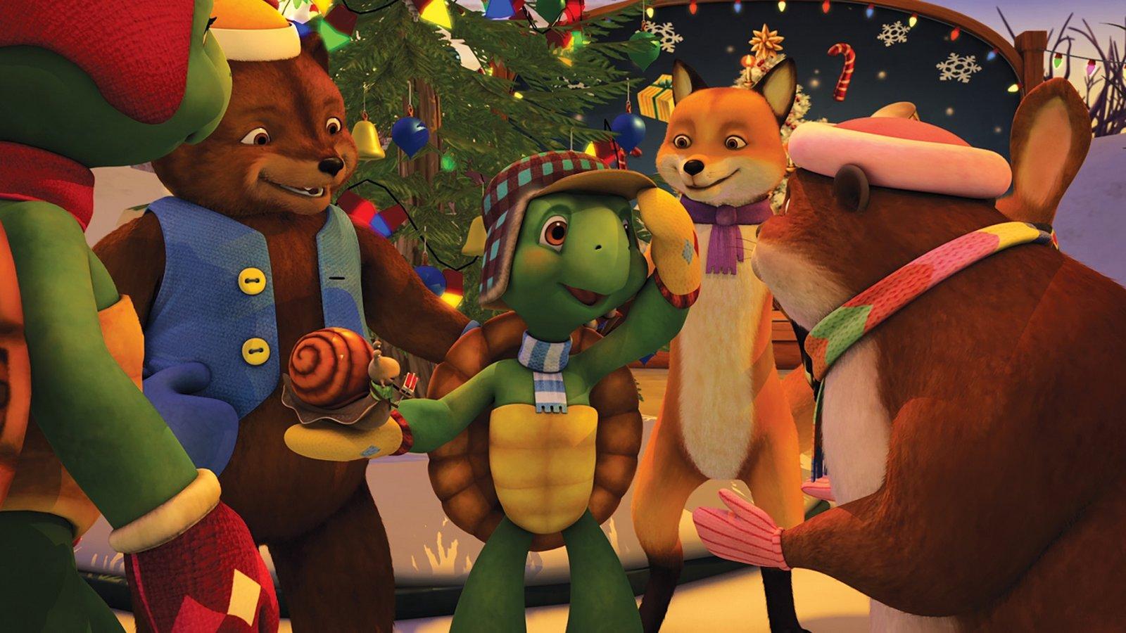 Franklin's Christmas Spirit / Franklin's Campout