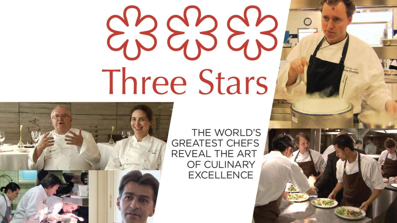 Three Stars - International Top Restaurants and the Michelin Star System