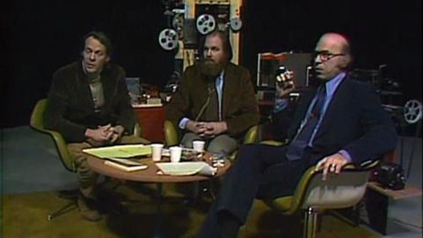 Screening Room with Standish Lawder & Stanley Cavell