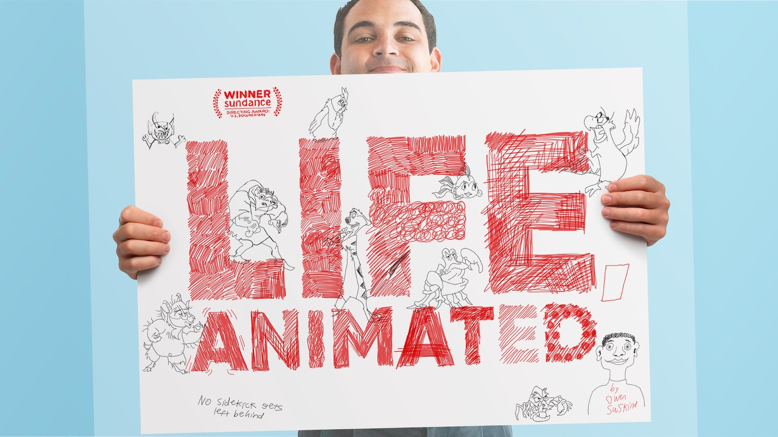 Life, Animated - An Young Autistic Man Finds His Voice Though Disney Films