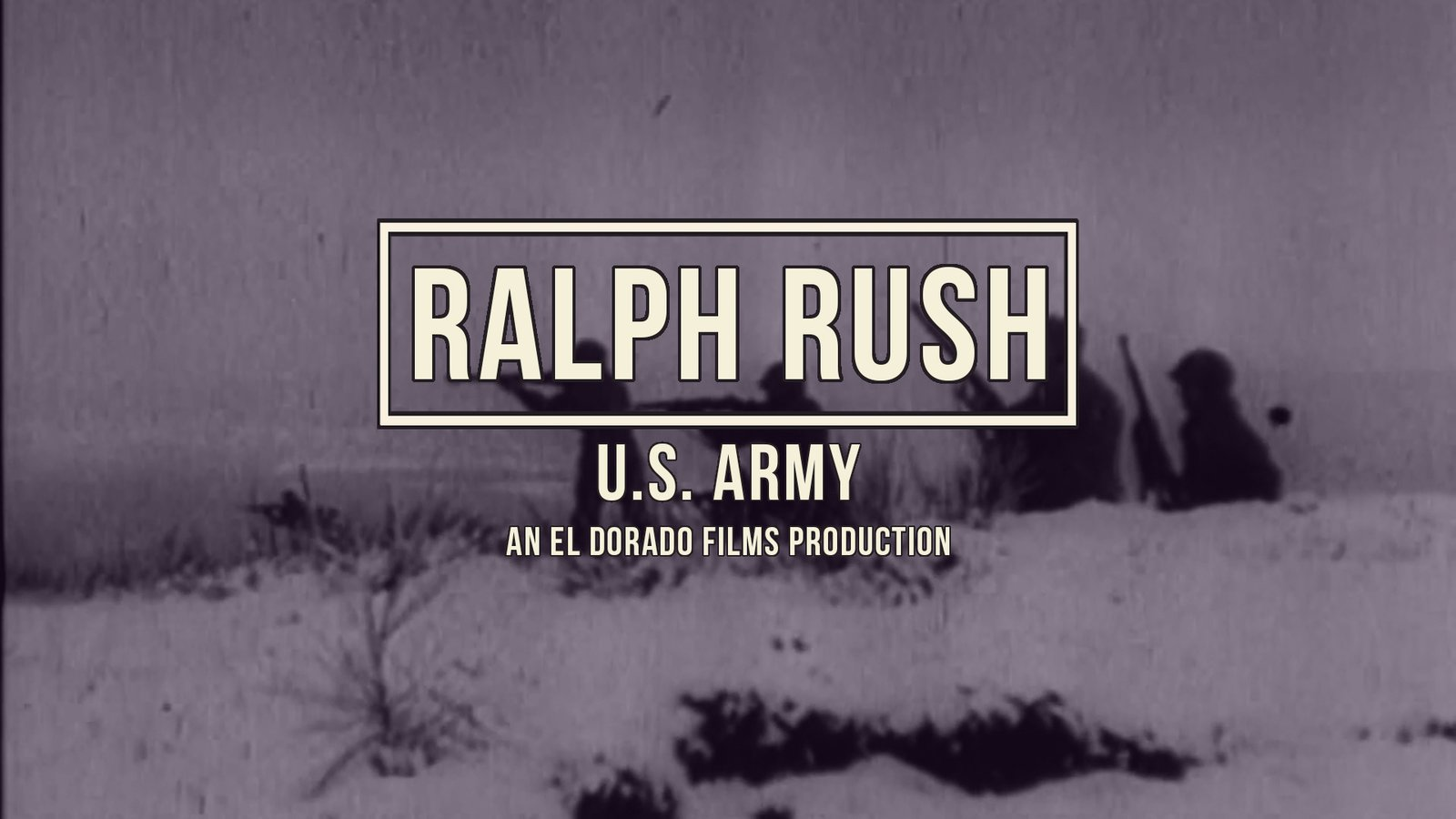 Ralph Rush - World War II Veteran