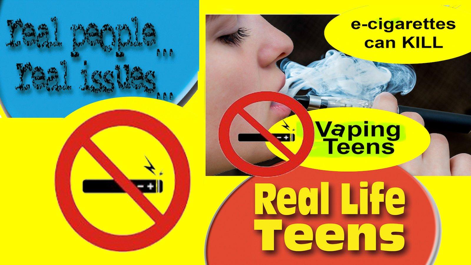 Blowing Smoke, Vaping Teens & Smoking Addiction