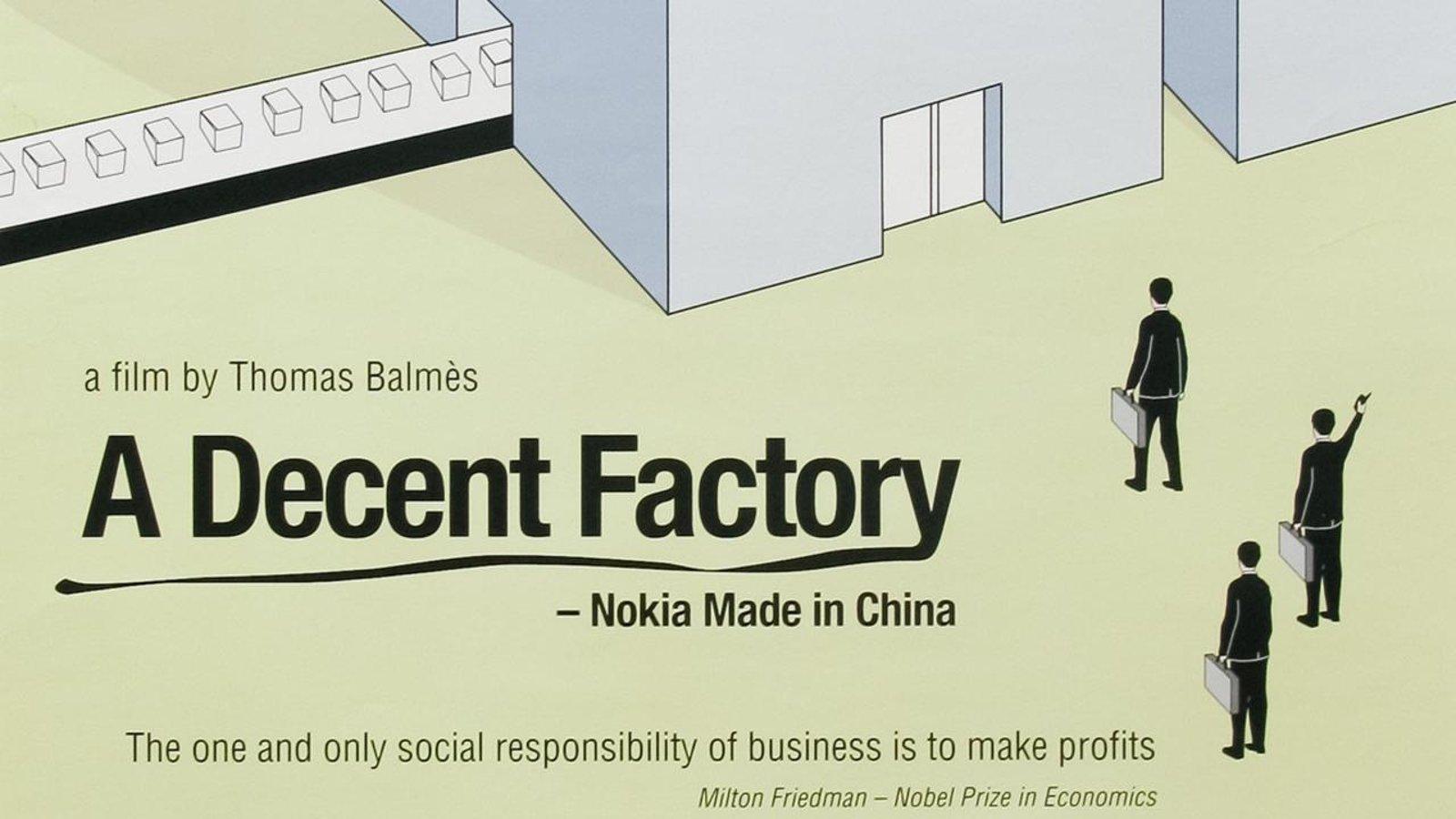A Decent Factory?