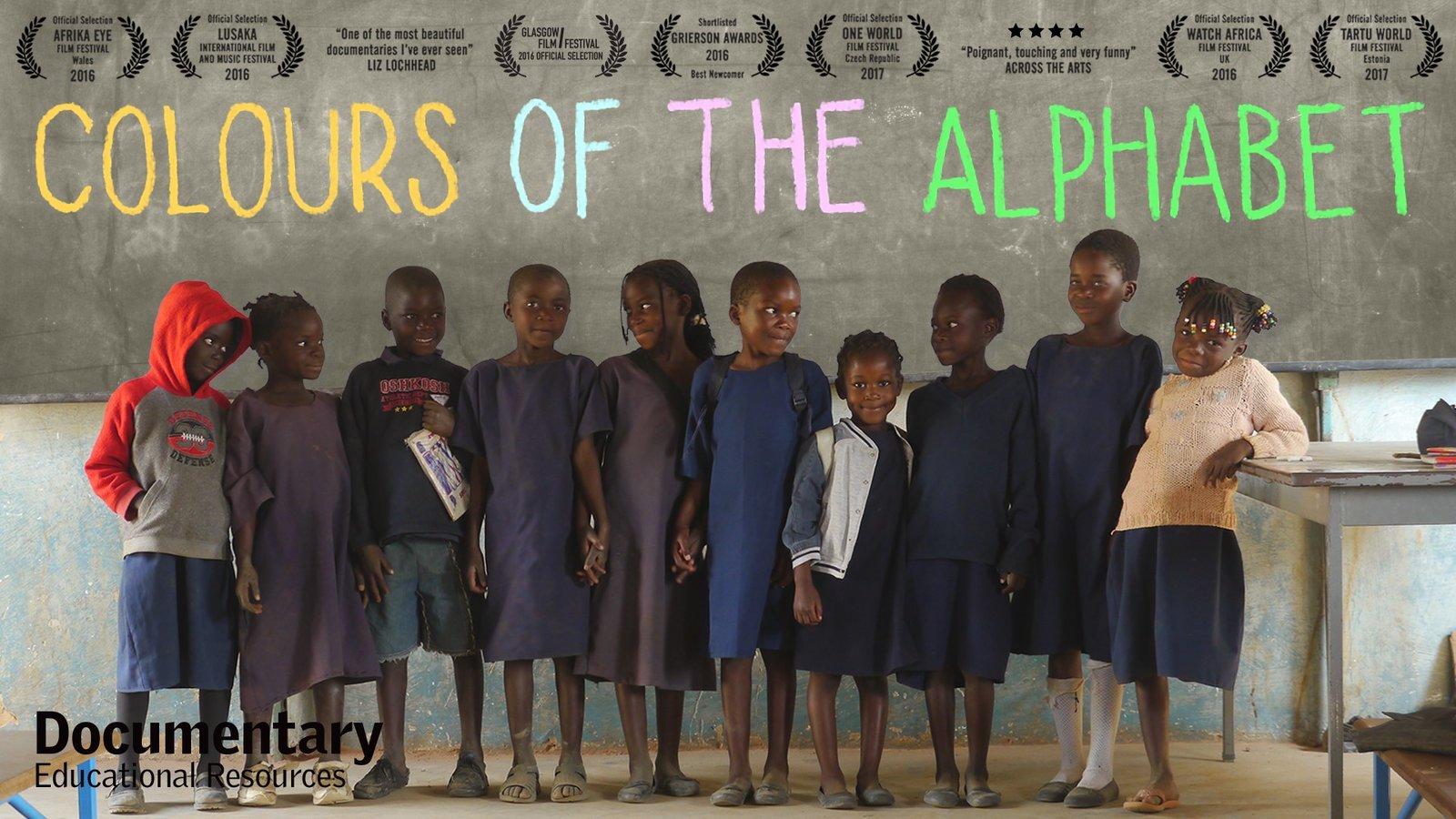 Colours of the Alphabet