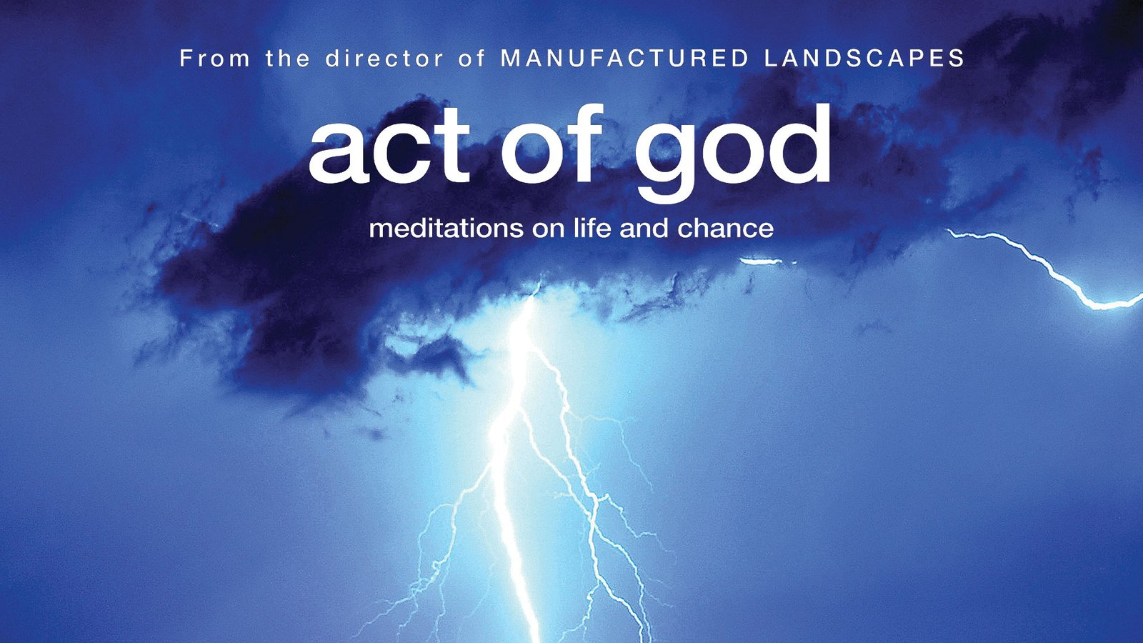 Act Of God - Meditations on Life and Chance
