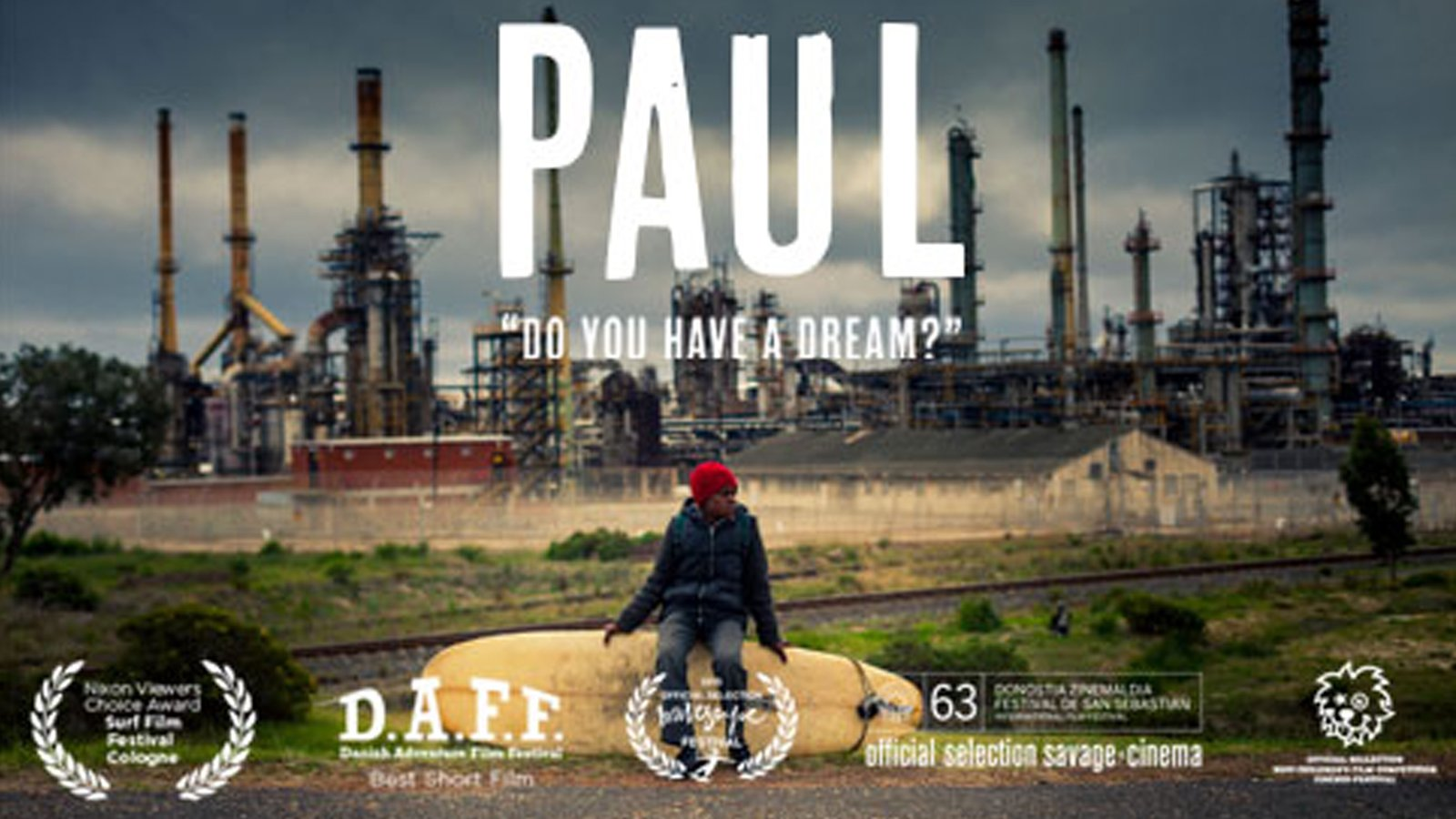 Paul - A Young South African Boy Dreams of Being a Surfer