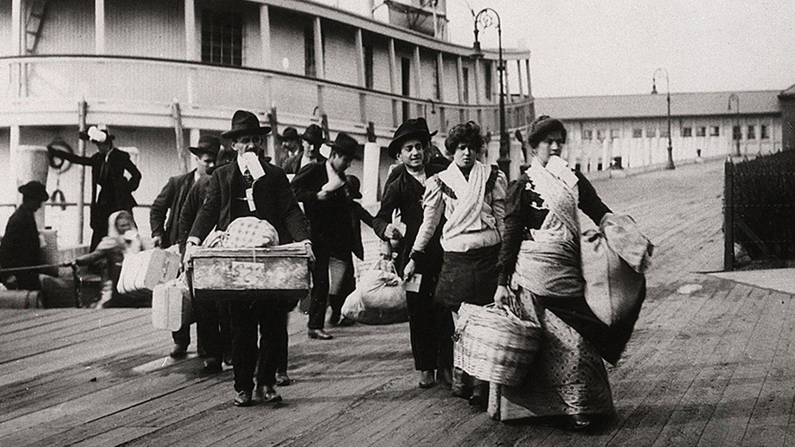 Your Ancestors in Ship Passenger Lists