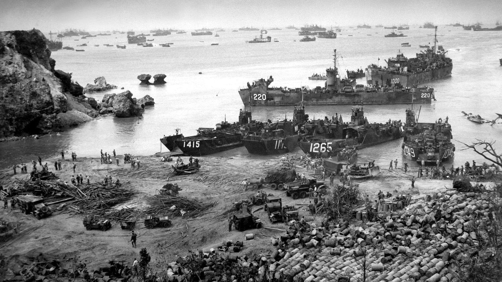 Battle for Okinawa, April–June 1945