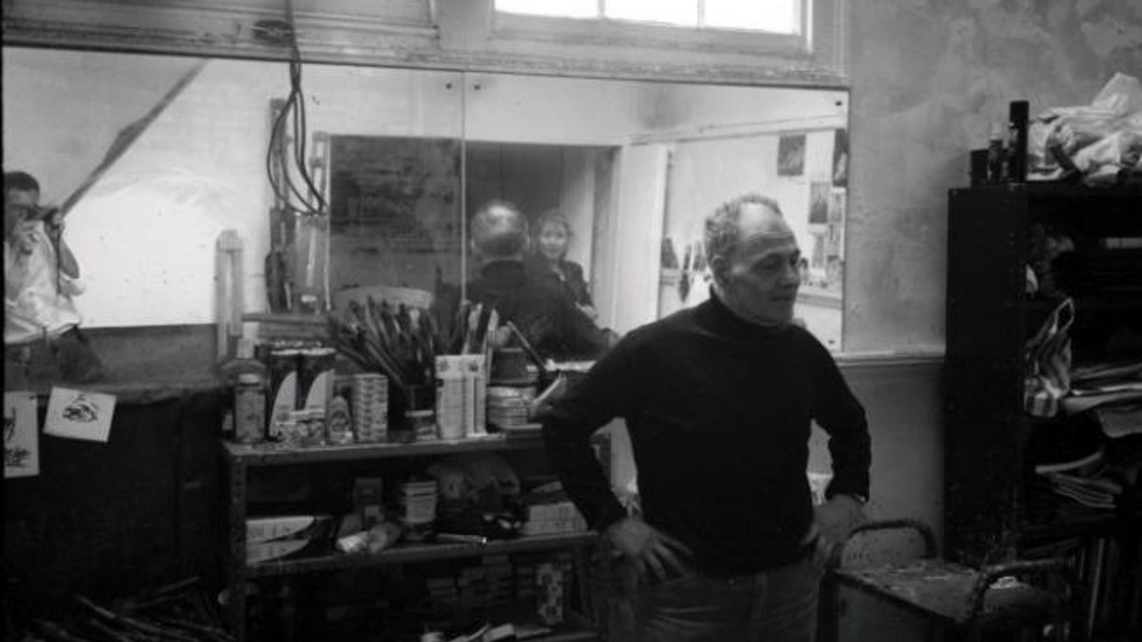 Frank Auerbach - Legendary Painter in the Studio
