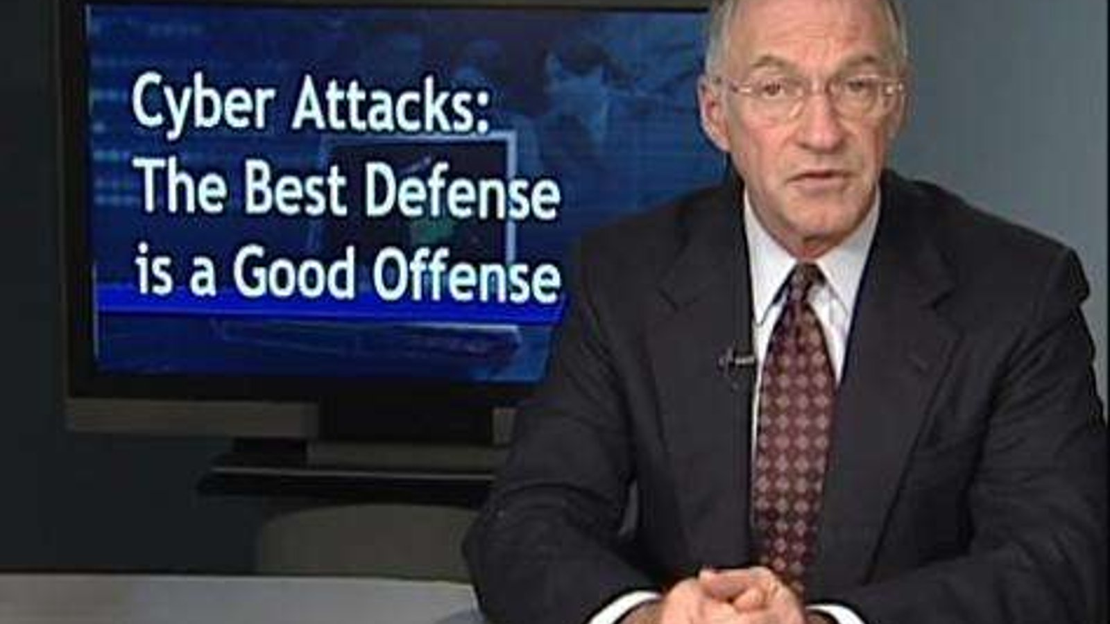 Cyber Attacks: The Best Defense is a Good Offense