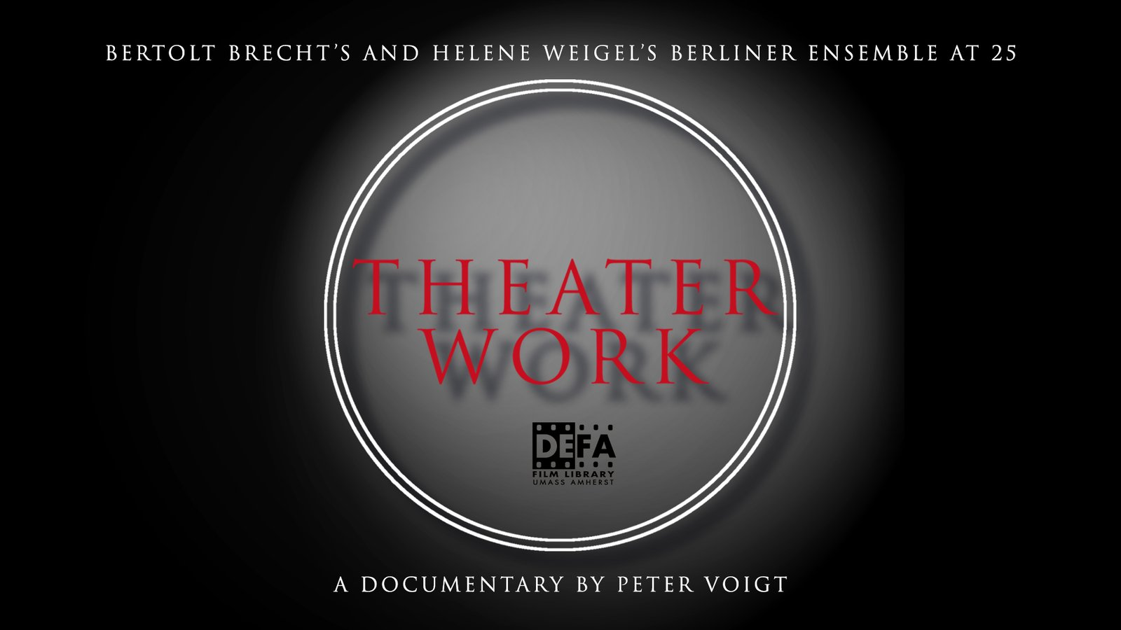 Theater Work - Behind the Scenes of a German Theater Company