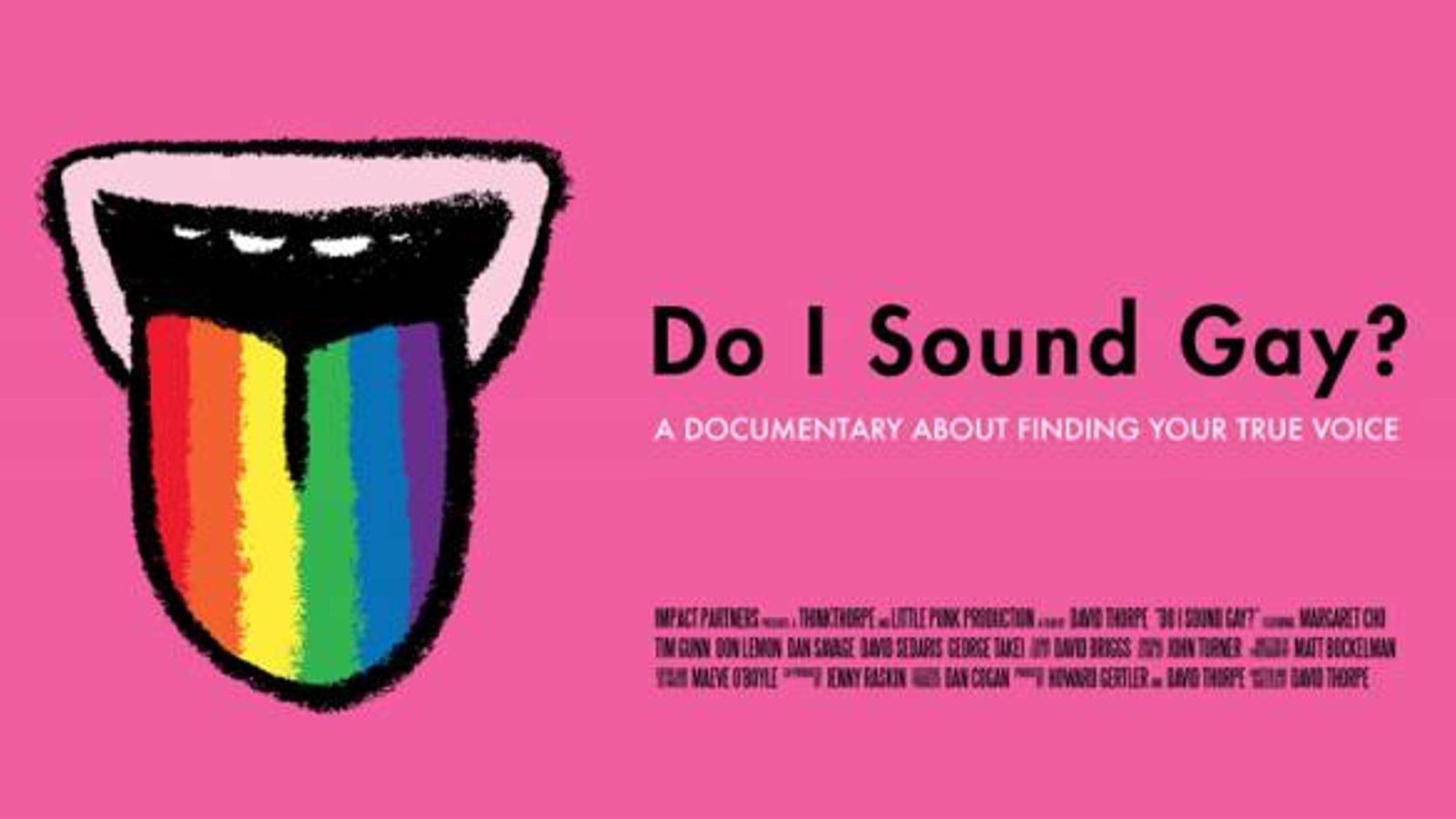 Do I Sound Gay? - A Linguistic Mystery
