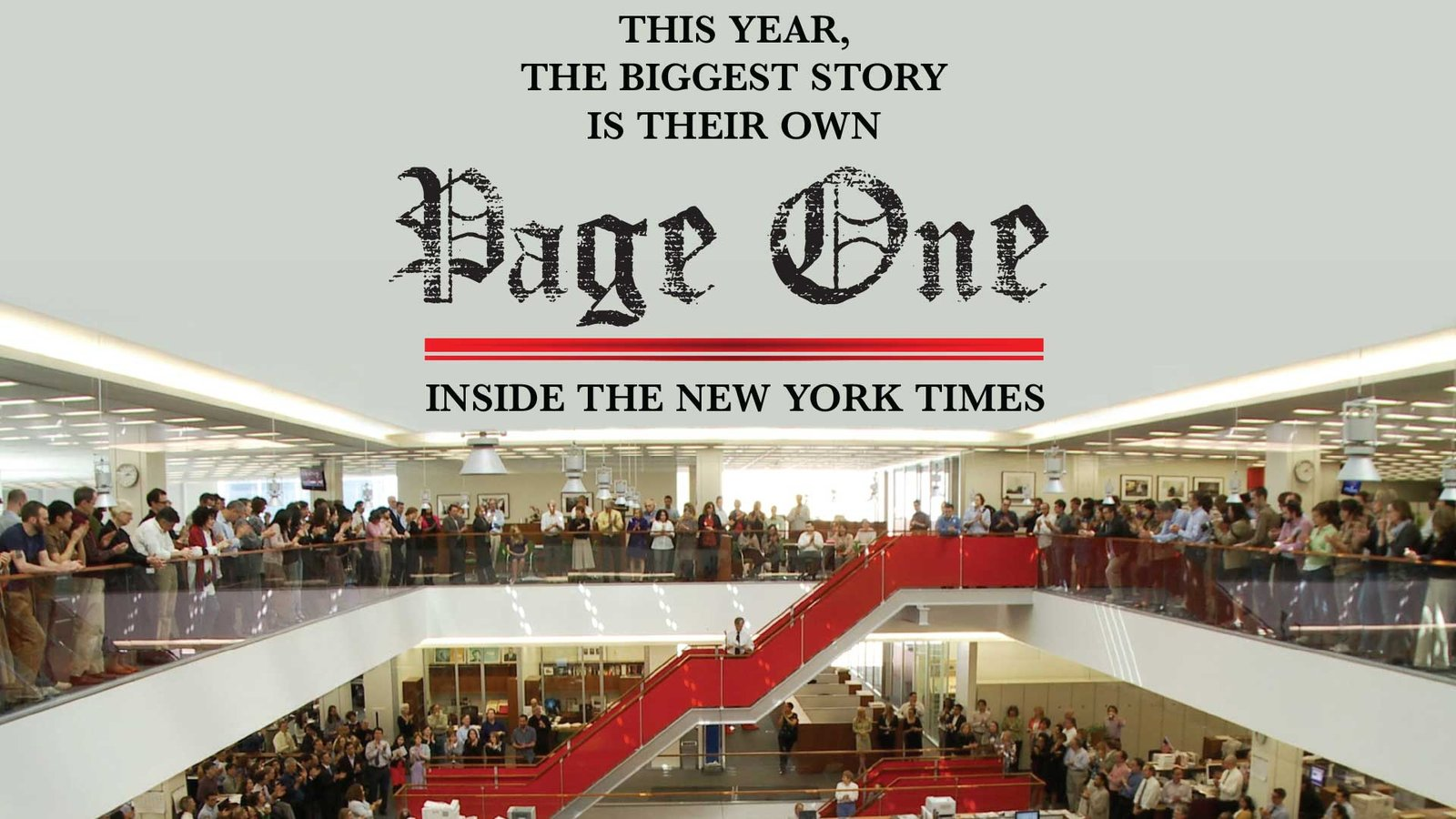 Page One: Inside the New York Times