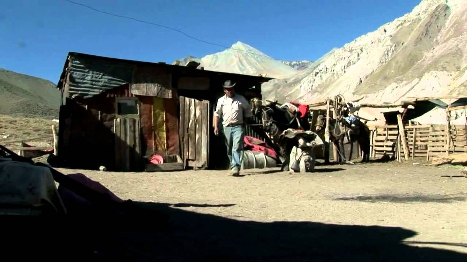 Arrieros - Argentinean Mountain Laborers