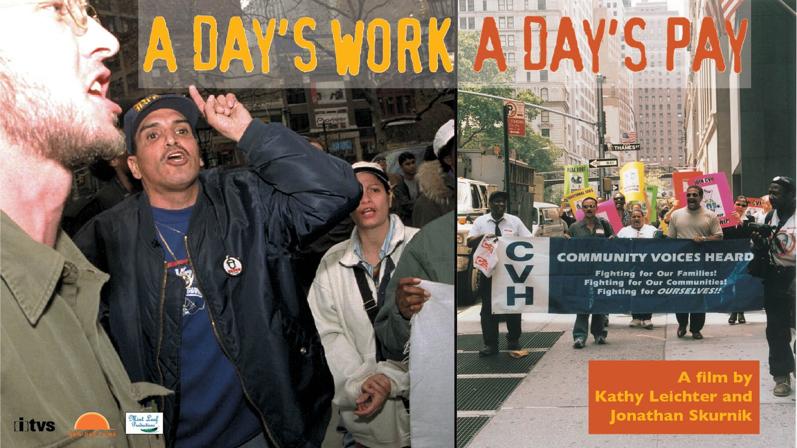 A Day's Work, A Day's Pay - Welfare-to-Work