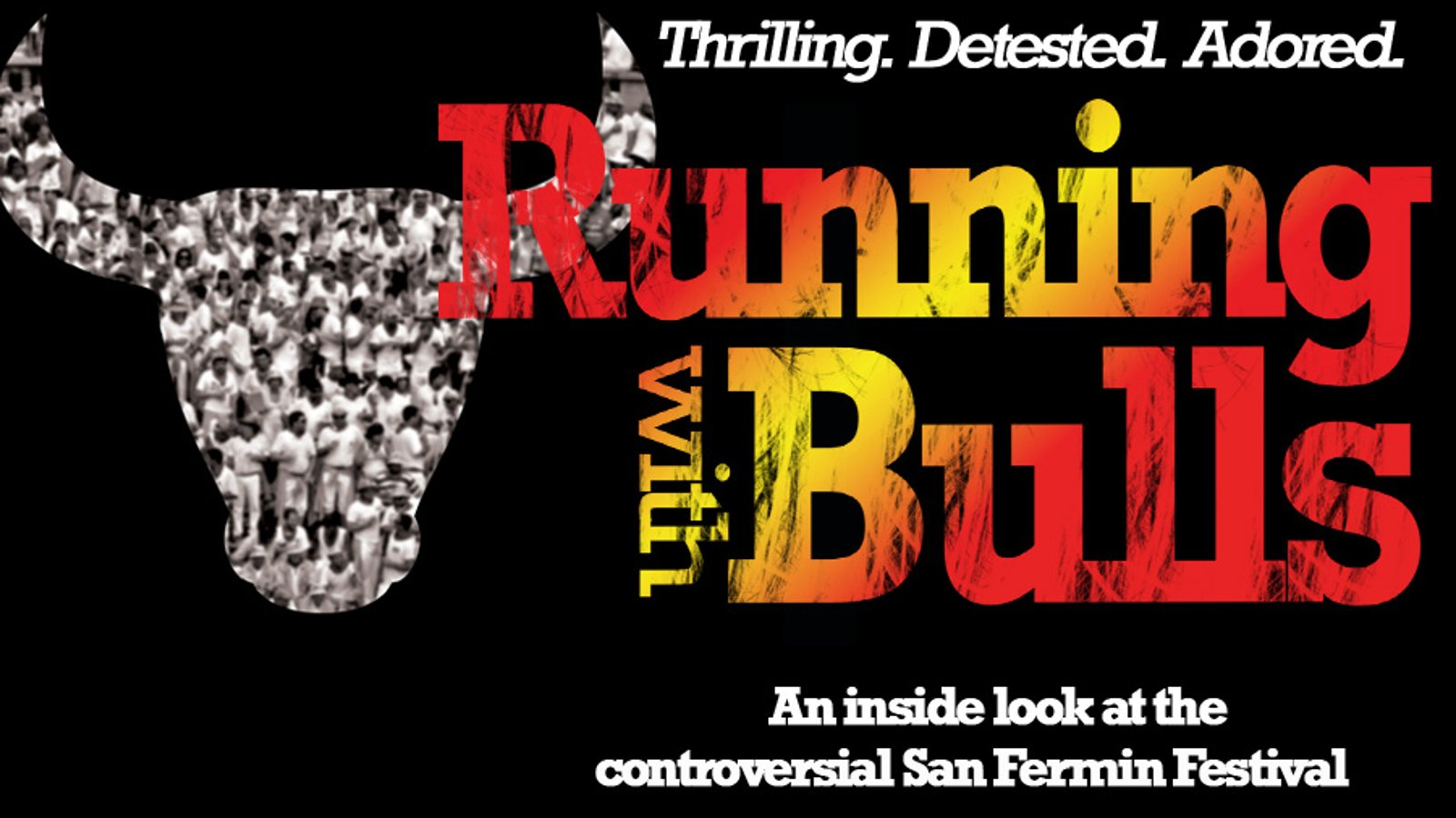 Running with Bulls - The Bull Run in Spain