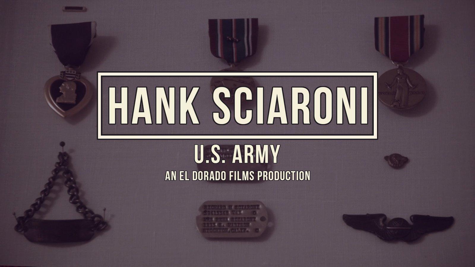 Hank Sciaroni - World War II Veteran