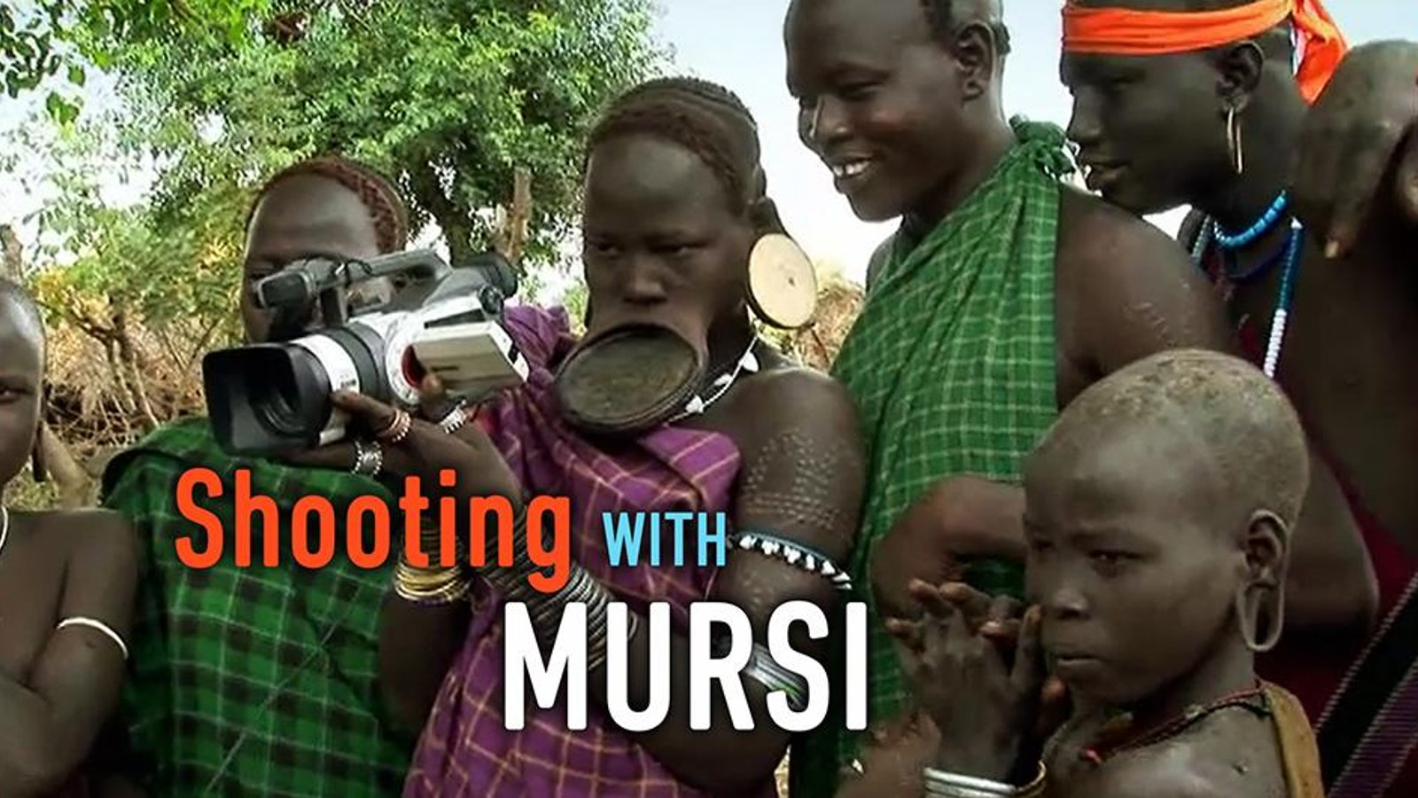 Shooting with Mursi