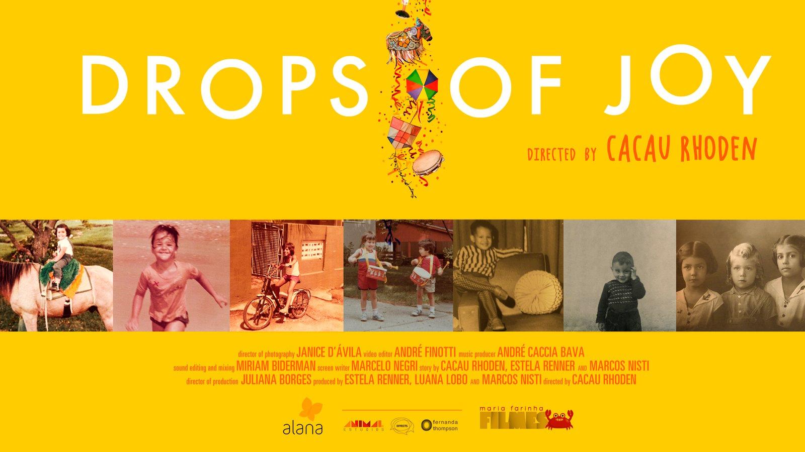 Drops of Joy - Tarja Branca