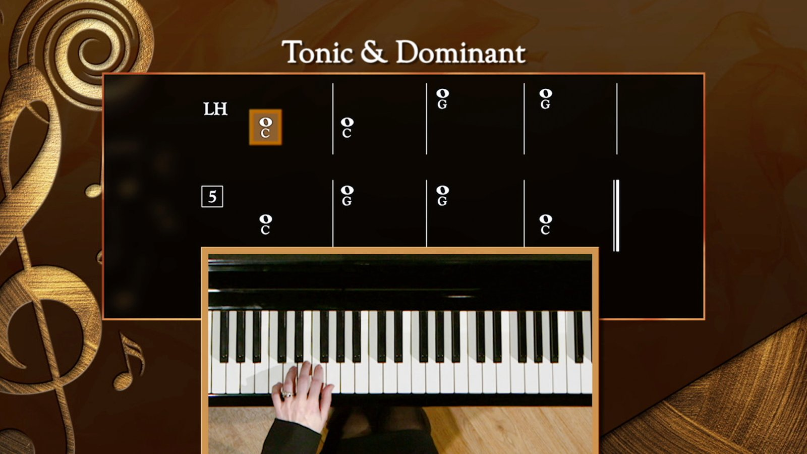 Tonic and Dominant Harmony