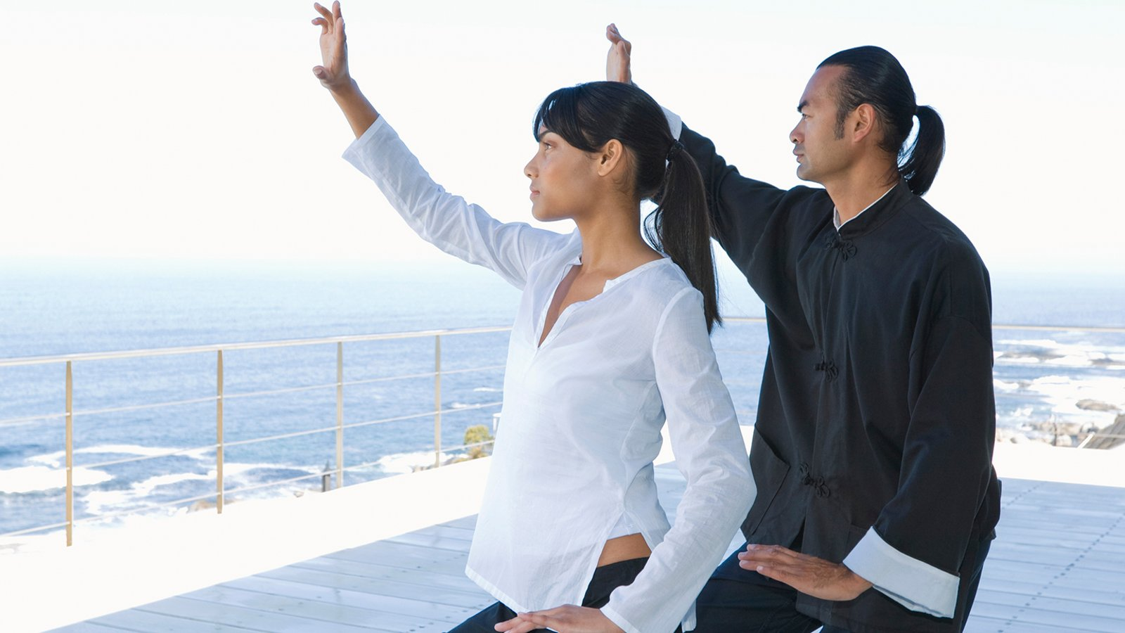 Tai Chi Partnered: From Connect to Merge