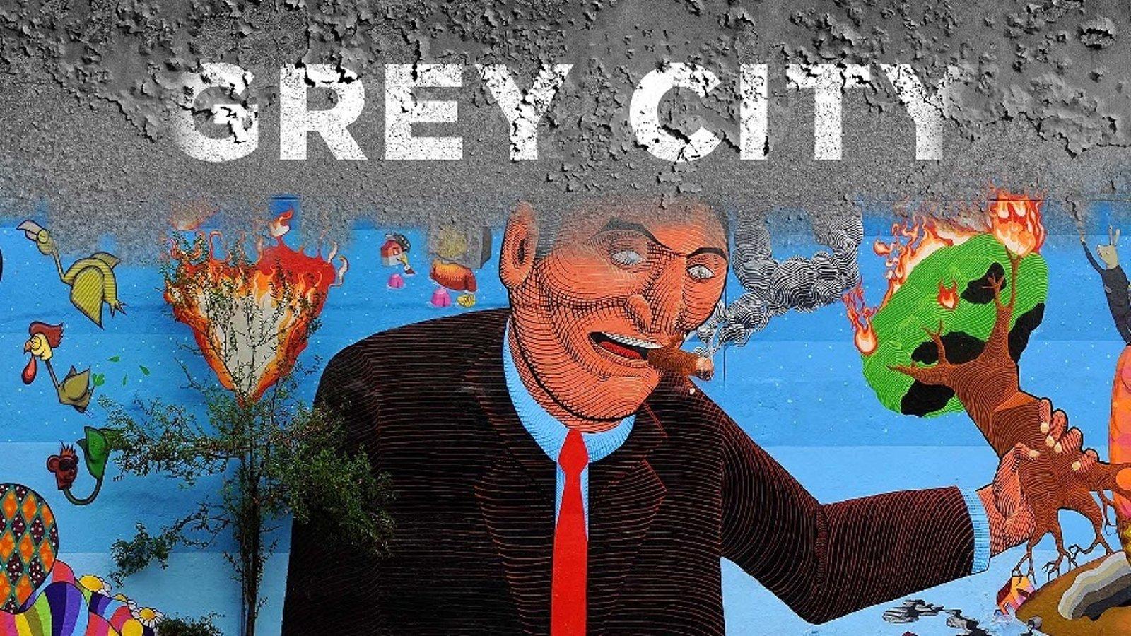 Grey City - Artists Use Graffiti as Political Resistance in Brazil