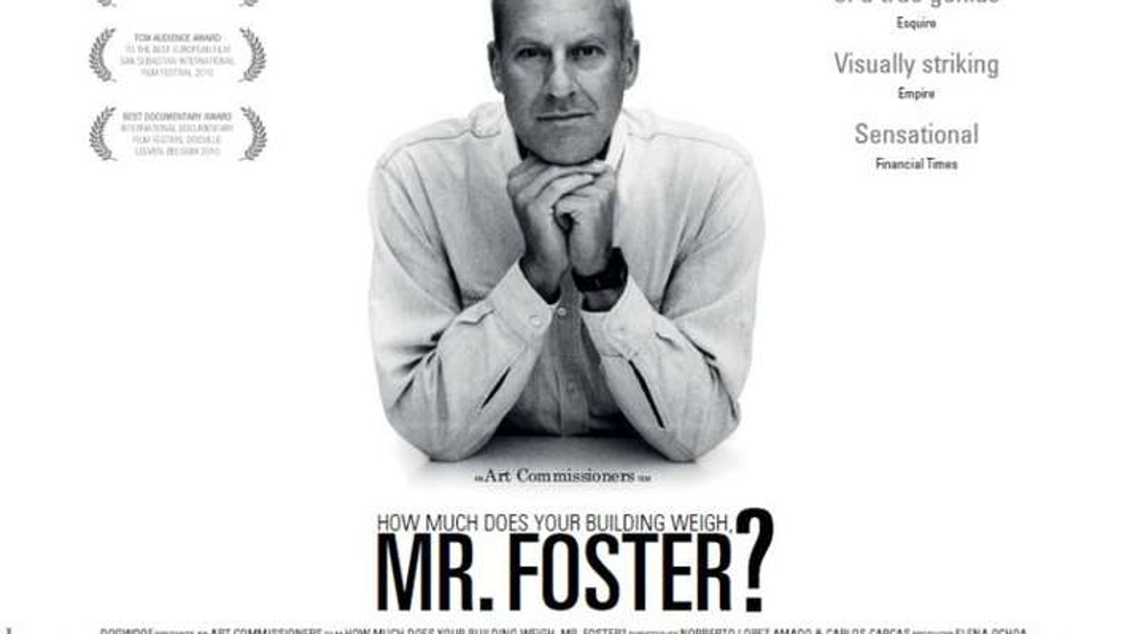 How Much Does Your Building Weigh, Mr Foster?