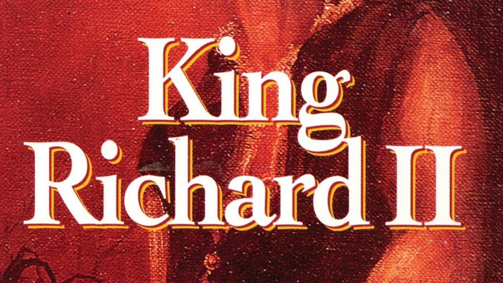Shakespeare Series: King Richard II