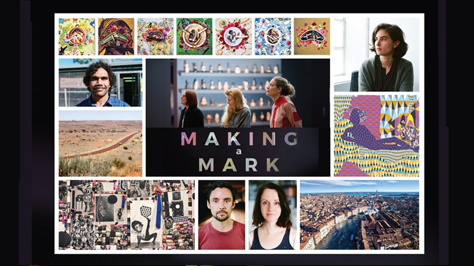 Making a Mark - Inspiration on the Cutting Edge of Visual Arts