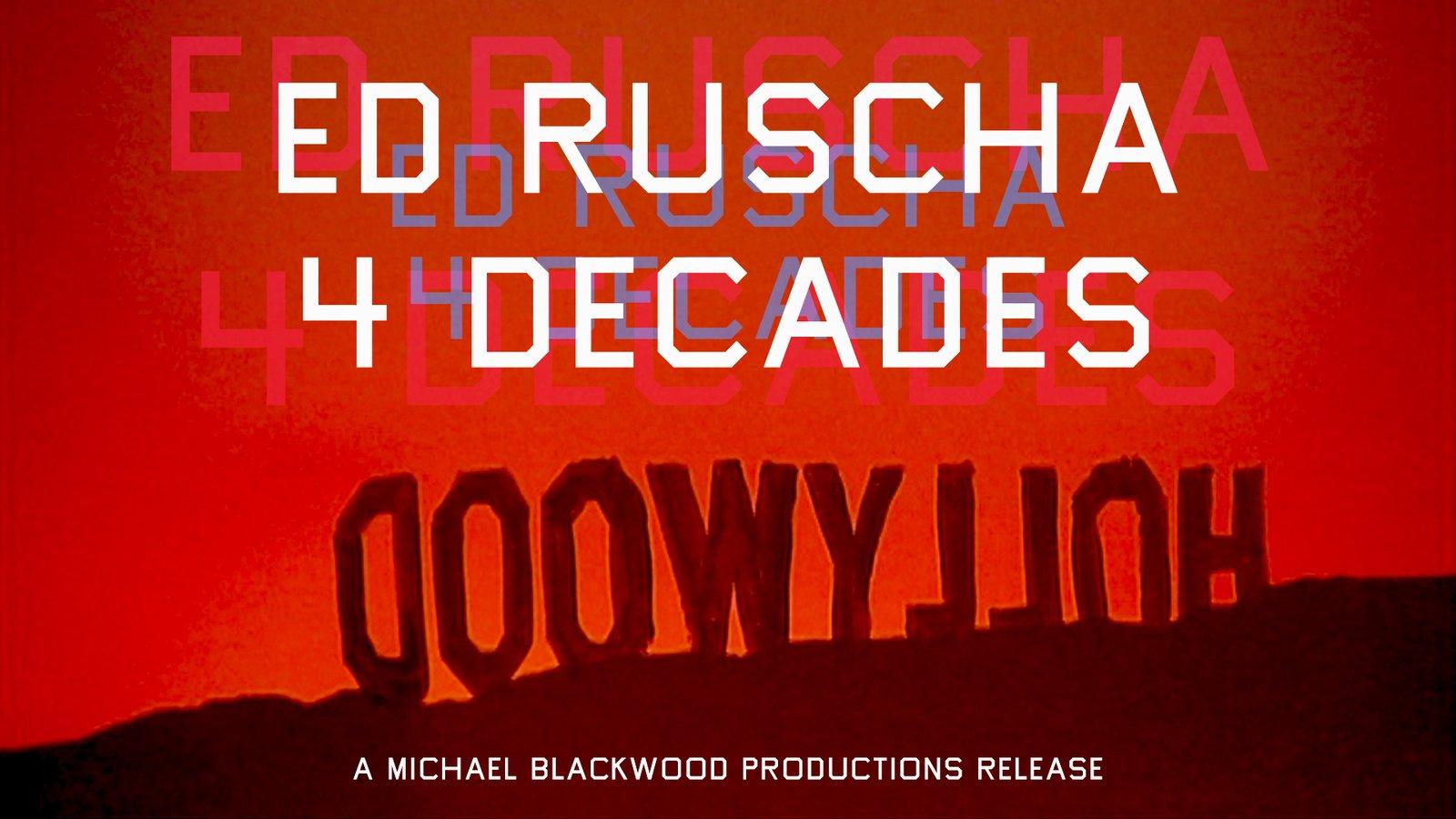 Ed Ruscha: 4 Decades - An American Pop Artist