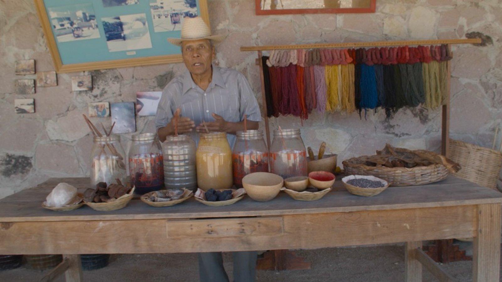 The Zapotec Way - Dyeing and Weaving at La Grana Tejidos